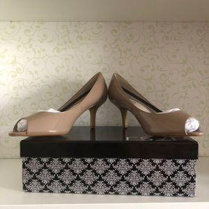 f097b526381 RSVP Shoes - rsvp Maren Patent Peep Toe Pump